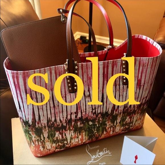 441057619b49 Christian Louboutin Beautiful Paris Handbag